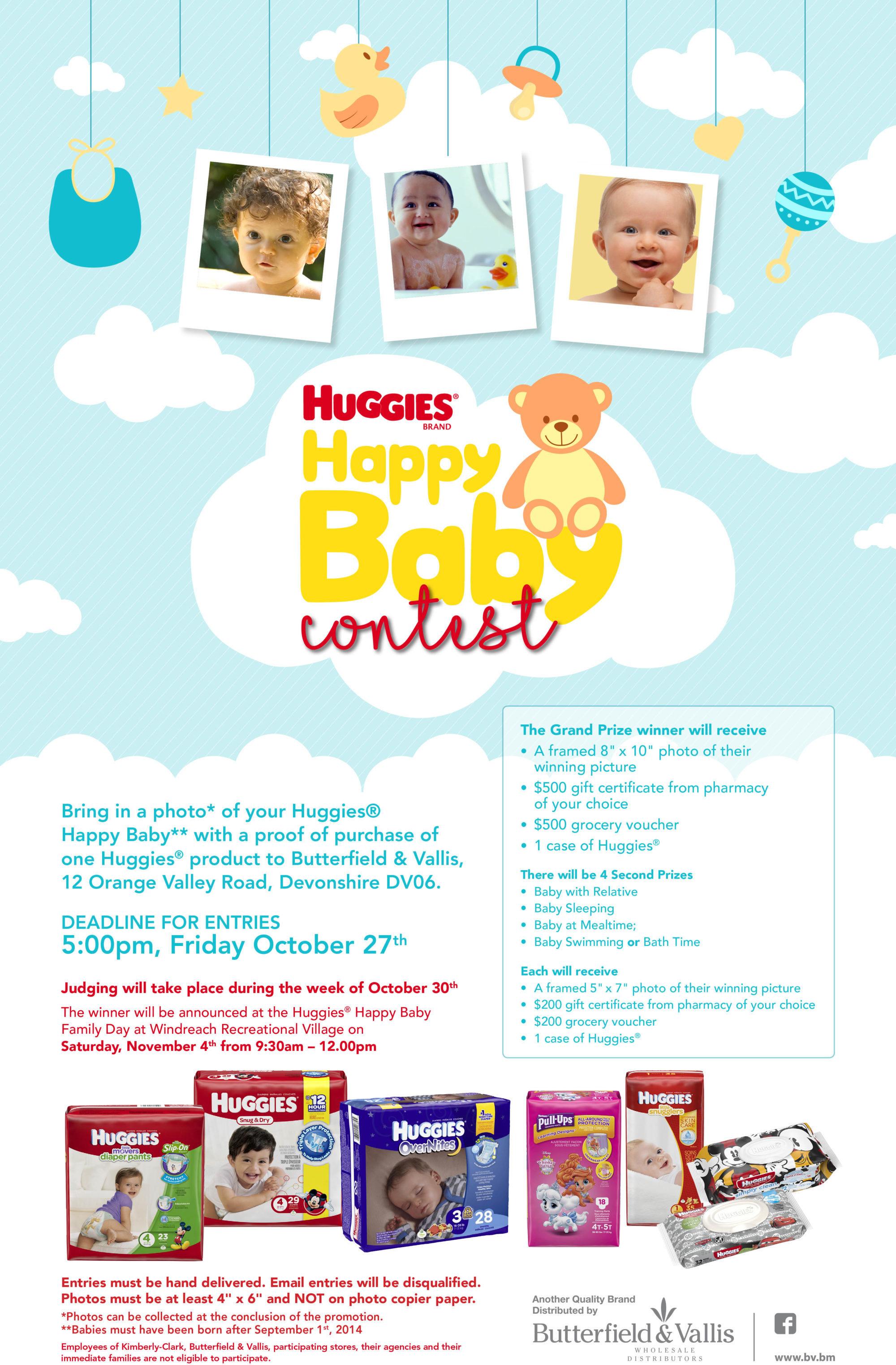 HUGGIES HAPPY BABY CONTEST