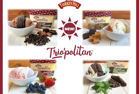 NEW FROM TURKEY HILL – TRIOPOLITAN ICE CREAM