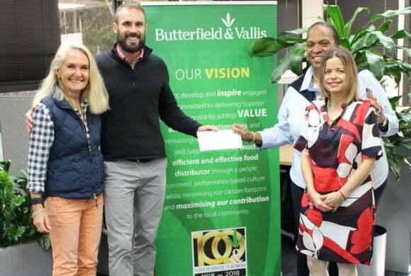 BERMUDA HEART FOUNDATION RECEIVES BUTTERFIELD & VALLIS 5K PROCEEDS
