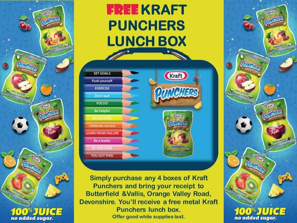FREE Kraft Punchers Lunch Box