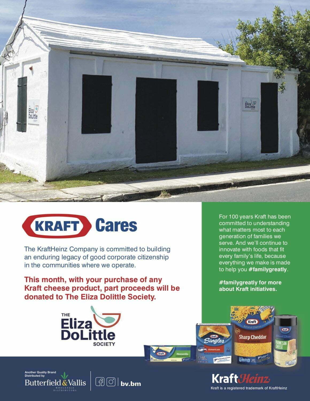 KRAFT CARES – PLEASE HELP THE ELIZA DOLITTLE SOCIETY!