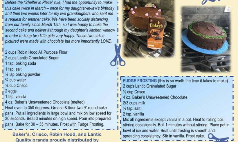 BAKER'S BEST CHOCOLATE CAKE
