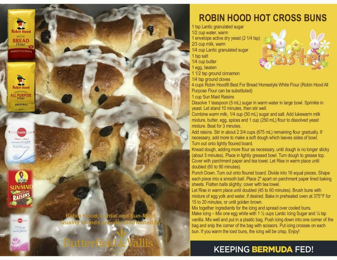 Robin Hood Hot Cross Buns