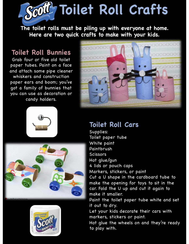 Scott Toilet Roll Crafts
