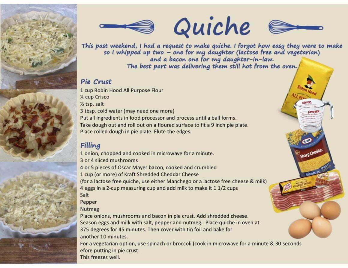 Quiche – Easy Recipe