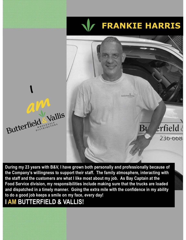 I AM BUTTERFIELD & VALLIS – Frankie Harris