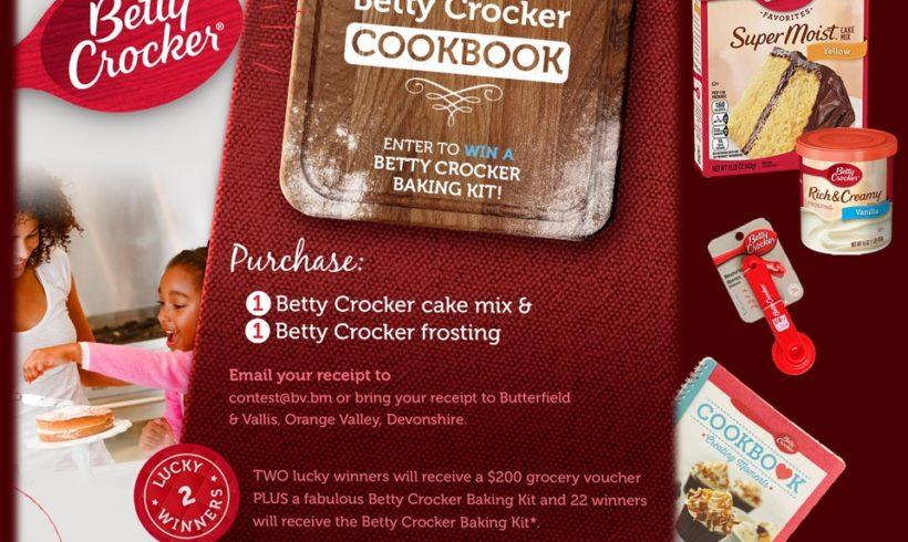 Bake with Betty Crocker & Win!
