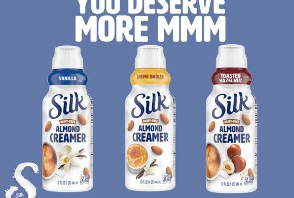 New…Silk Almond Creamers