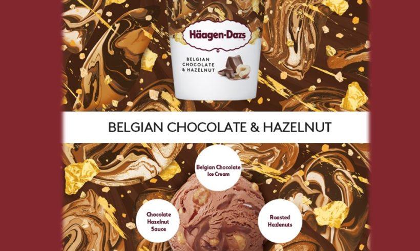 Coming Soon to a freezer near you…Haagen-Dazs Belgian Chocolate & Hazelnut