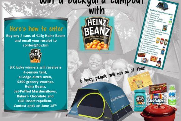 WIN A BACKYARD CAMPOUT WITH HEINZ BEANZ